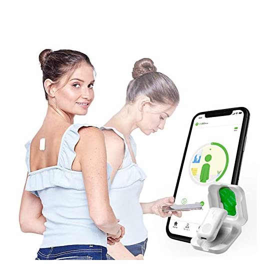 Upright GO 2 Posture Trainer and Corrector for Back Strapless, Discreet and Easy to Use Complete with App and Training…