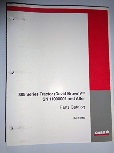 Case IH David Brown 885 Series Tractor Parts Catalog Book Manual ()