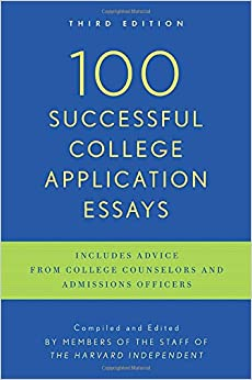 100 successful college application essays harvard independent The paperback of the 100 successful college application essays (updated, third edition) by the harvard independent at barnes & noble free shipping on.