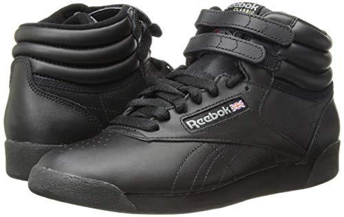 Reebok Women's Freestyle Hi Walking Shoe, Black, 5 M US by Reebok (Image #5)