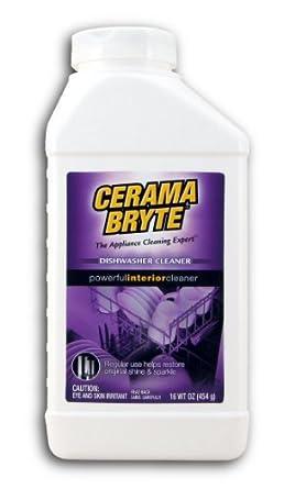 Amazon.com: CERAMA BRYTE de limpiador de lavaplatos, Paquete ...
