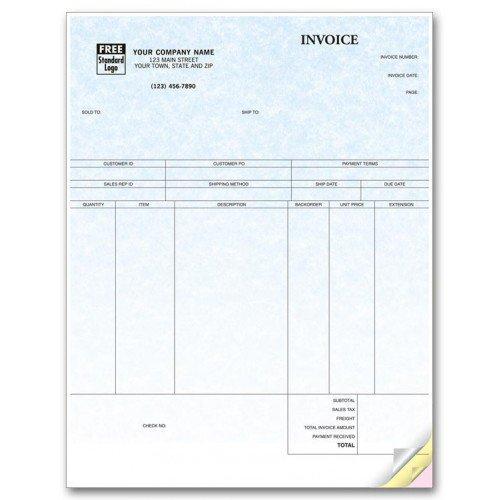Laser Product Invoice Parchment
