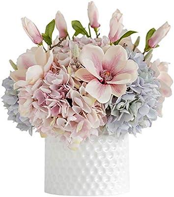 Artificial Hydrangea Flowers Heads 10 Teal Hydrangea Silk