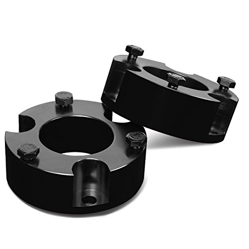 (For Tacoma/FJ Cruiser Black 3 inches Front Spacers Suspension Leveling Lift Kit)