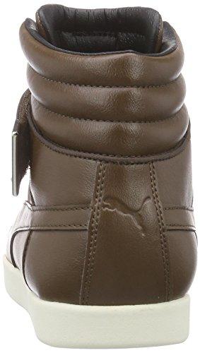 Hi White Baskets Marron Braun Court 03 Adulte Puma Modern Mixte Hautes carafe Citi whisper Series AOXEq