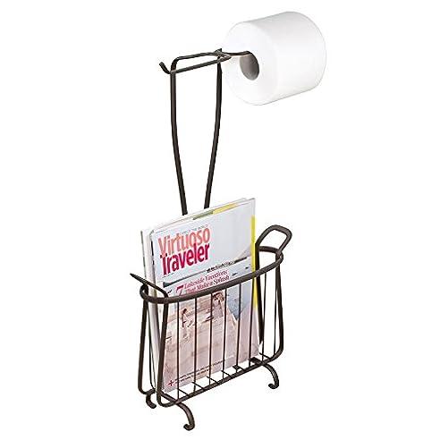 Mdesign Toilettenpapierhalter Ohne Bohren - Klorollenhalter Fürs