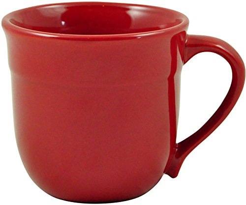 (Emile Henry 348714 HR Ceramic Traditional mug, Burgundy)