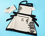 """Kensington"" Personalized Apron and Oven Mitt"
