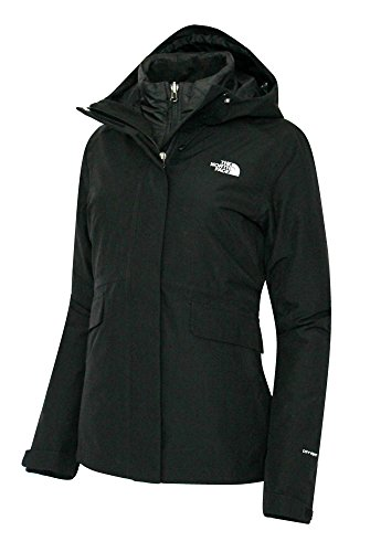 The North Face women's Monarch Insulated Ski Triclimate Jacket Tnf Black (L)