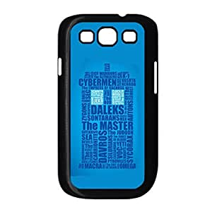 Generic Silicone Unique Back Phone Covers For Girls Printing Tardis For Samsung Galaxy S3 I9300 Choose Design 6