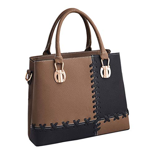 bandolera bolsos Caqui para de hombro Bolsos Shoppers mujer de con mano asa Carteras Bolsos y n8AFAw