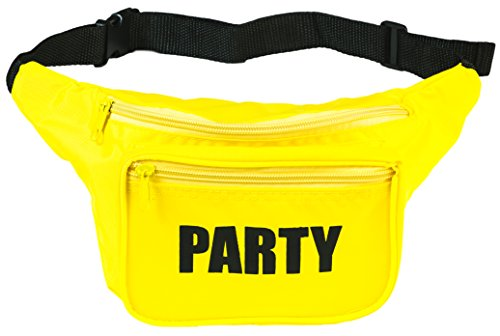 Funny Guy Mugs PARTY Fanny Pack, (Unique Costume Ideas Guys)