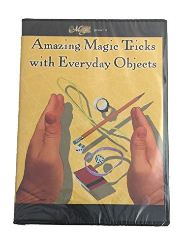 Amazing Magic Tricks with Everyday Objects DVD