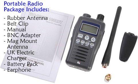 Compact Portable 200 Memory National, Local Radio, FM, AM
