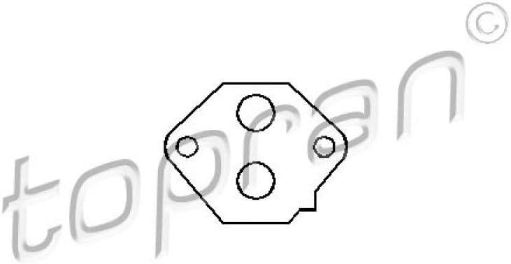 TOPRAN 205 637 Dichtung Leerlaufregelventil-Luftversorgung