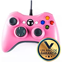 Virtual Zone Control Alámbrico Generico Compatible Xbox 360 / PC (Rosa)