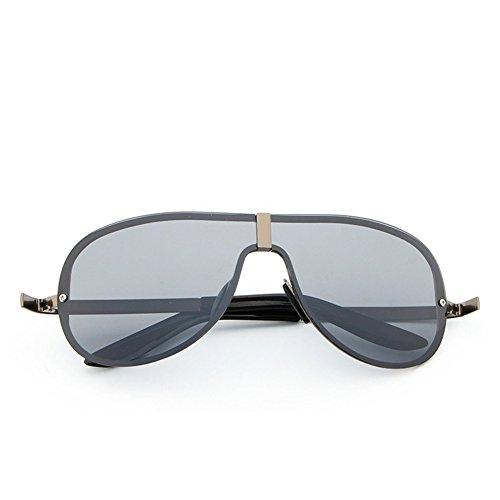 Lens Frame Grey de soleil Homme Lunettes Black Yiwa qw70UTx