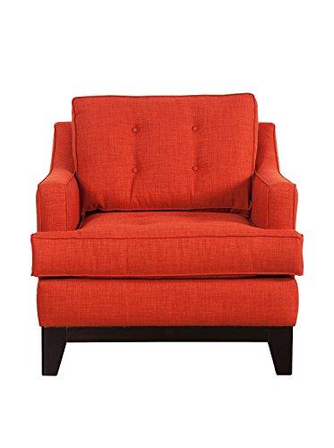 Cheap Obsolete – Zuo Chicago Arm Chair, Burnt Orange