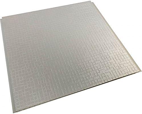 Elegance color blanco marfil mosaico efecto PVC paneles de pared ...