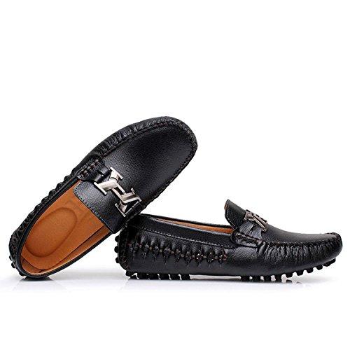 Icegrey Men's Moccasin Boots Black jNKpTqTW