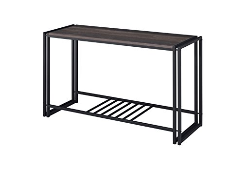 Proman Products TB17047 Santa Fe Sofa/Console Table, Dark Brown (Mission Living Furniture Room Lodge)