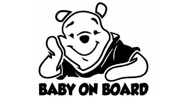 Amazon.com: Calcomanía de vinilo de Winnie de Pooh ...