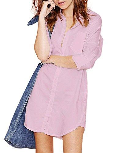 buttoned summer dresses - 8