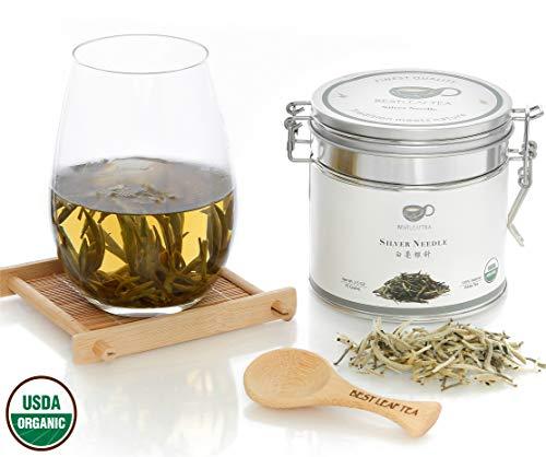 BESTLEAFTEA- Organic Silver Needle White Tea/ Bai Hao Yin Zhen/70g/ 2.5Oz