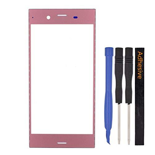 Lente de vidrio de pantalla para Sony Xperia Xz1 g8343 Rosa