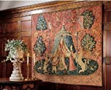 55'' French Mon Seul Desir Tapestry Wall Hanging Display