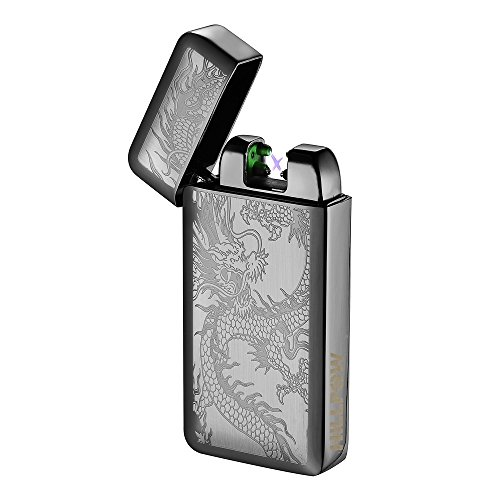 HILLPOW Electric Lighter Rechargeable Flameless