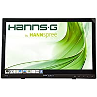 Hannspree HT HT161HNB 15.6 1366 x 768pixels Multi-touch Tabletop Black touch screen monitor