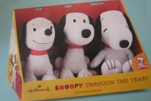 B00E0NLK1G Hallmark Peanuts PAJ4648 Snoopy Through The Years Plush Collection 41d064R2BRGL.