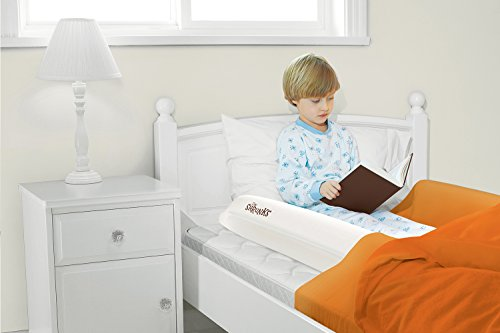 Shrunks Inflatable Kids Bed Rails Safety Side Bumpers For