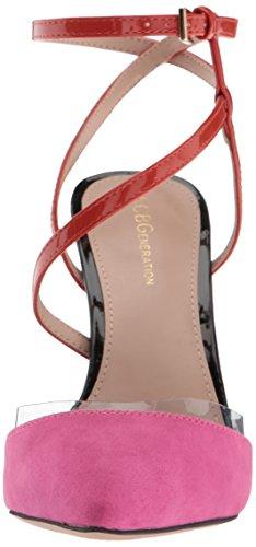 Pink À Femmes 9 Chaussures 5 Rose Talons Eu 41 Taille sunset Couleur Us Bcbg wSSq1