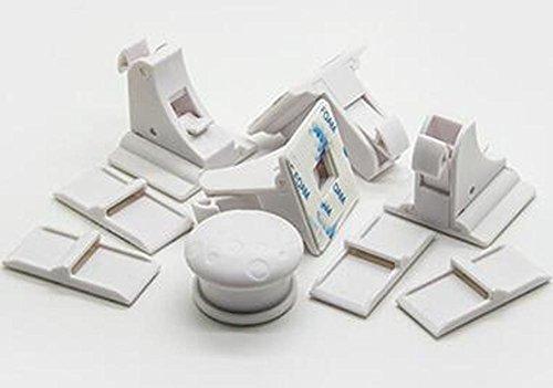MOEUP 2 Sets Child Safety Magnetic Locks for Cabinet Drawer Cupboard 8 Locks + 2 Universal Key
