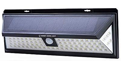 Solar Motion Sensor Light Outdoor – Solar Lights Outdoor Motion Sensor with 86 LED – Solar Flood Light for Backyard, Patio, Garden, Garage, Shed – Outdoor LED Flood Lights from SweetHomeLight