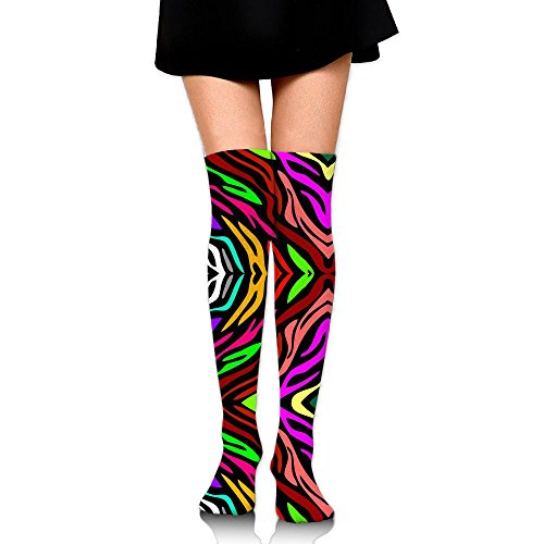 遠足前部法令アート さいしき ストッキング サイハイソックス 3D デザイン 女性男性 秋と冬 フリーサイズ 美脚 かわいいデザイン 靴下 足元パイル ハイソックス メンズ レディース ブラック