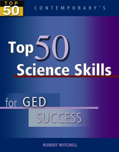 Top 50 Science Skills for GED Success, Student Text Only (GED Calculators)