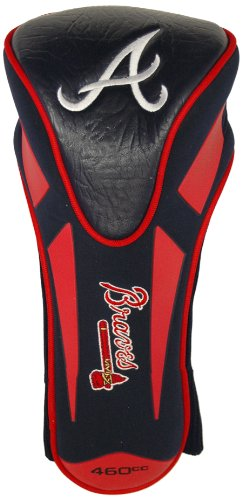 Team Golf MLB Atlanta Braves Golf Club Single Apex Driver Headcover, Fits All Oversized Clubs, Truly Sleek Design