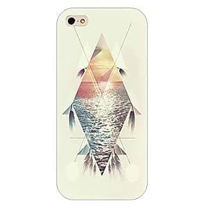 YULIN Cubierta Posterior - Diseño Especial/Innovador - para iPhone 5/iPhone 5S ( Multicolor , Plástico )