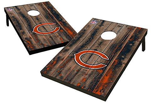 Wild Sports NFL Chicago Bears Unisex Chicago Bears Tailgate Toss Bean Bag Gamechicago Bears Tailgate Toss Bean Bag Game, Team Color, 2'x3'