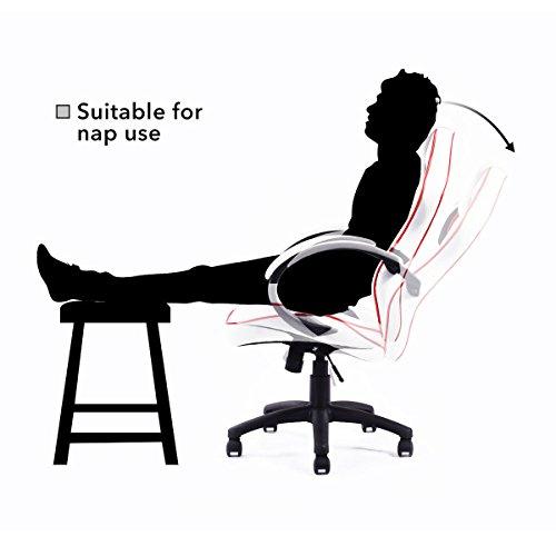 Giantex Executive Swivel Gaming Chair High Back Sport