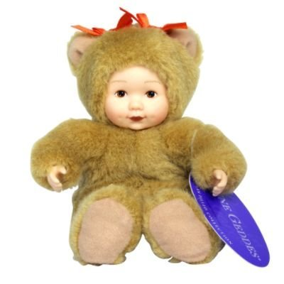 Anne Geddes Bean Filled Collection Baby Bear Doll 6 Inches