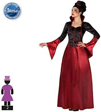 Atosa-49973 Disfraz Vampiresa, Color rojo, XXL (49973 , color ...