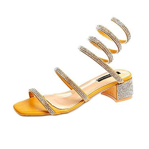 Donyyyy Sandalias para Mujeres Zapatos de Mujer Thirty-five