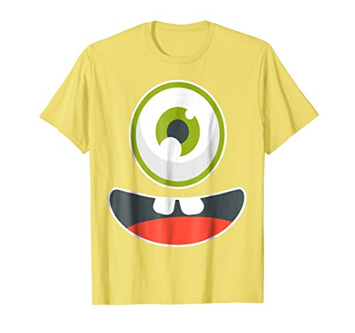 Cute Monster Emoji Face Yellow Group Halloween Costume Shirt