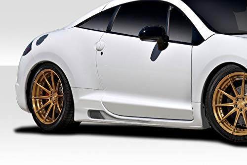 Duraflex Replacement for 2006-2012 Mitsubishi Eclipse Gator Side Skirts Rocker Panels - 2 Piece