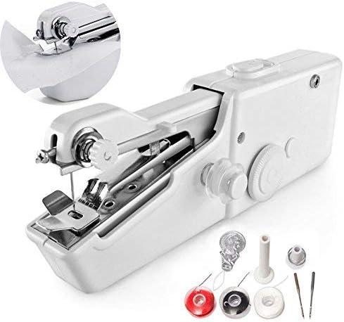 Mini máquina de coser, portátil mano coser rápido punto de ...