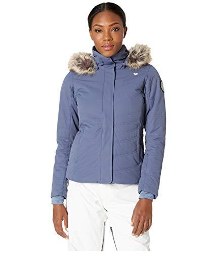 New Apres Ski - Obermeyer Women's Tuscany II Jacket Into The Blue 10
